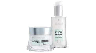 Zeitgard Anti-Age System Uzupełniający zestaw Nawilżanie (serum pod oczy,krem-żel nawilżający) (1)