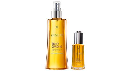Beauty Diamonds Zestaw: olejek do twarzy + olejek do ciała (1)