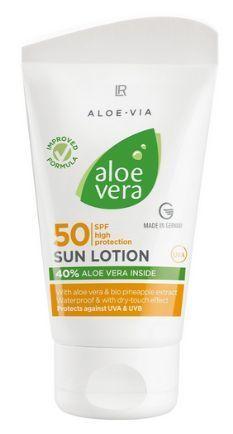 Aloe Vera Mleczko przeciwsłoneczne SPF 50 (1)