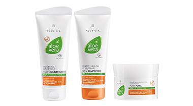 Aloe Vera Nutri-Repair Zestaw Pielęgnacja włosów (szampon, odżywka i maska) (1)